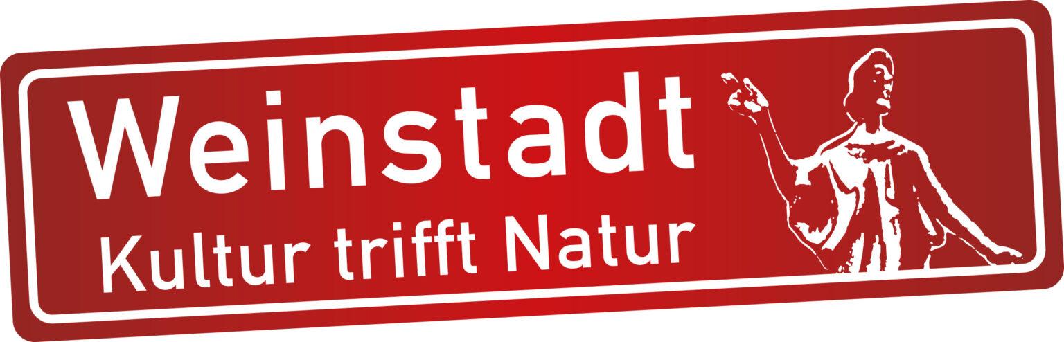 Weinstadt Kultur trifft Natur Logo des Stadtmarketings Weinstadt