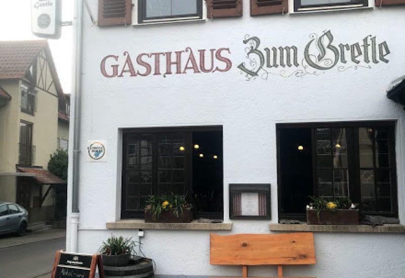 Gasthaus zum Gretle in Strümpfelbach